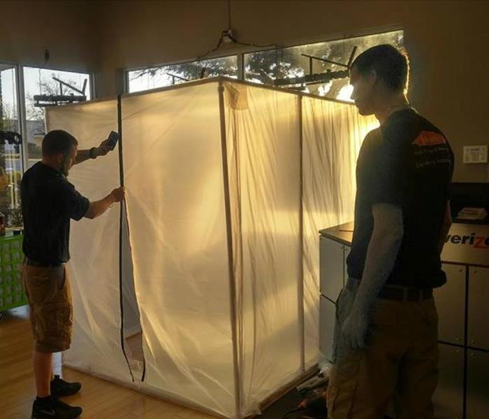 Mold Remediation/Containment